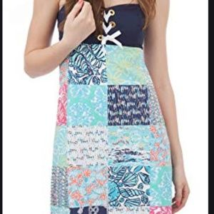 Lilly Pulitzer Riley Dress in Nautical Patchwork